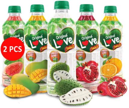Kaya Akan Serat, Yuk Simak Kandungan Yang Ada Dalam Love Juice