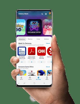 متجر إلكتروني للتطبيقات الخاصة بأنظمة الأندرويد, متجر سامسنغ Samsung Galaxy Store, تطبيق Samsung Galaxy Store للأندرويد, Samsung Galaxy Store apk