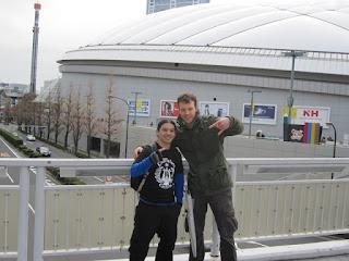 Tokyo Dome con Jan!