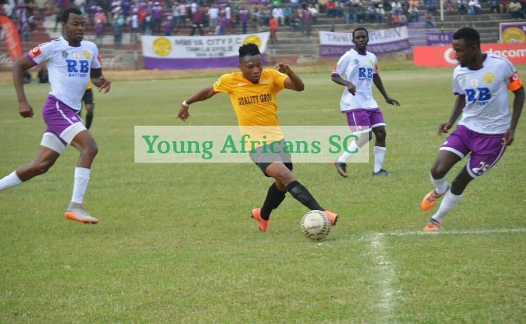 Mbeya City Vs Yanga SC