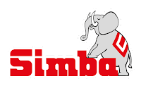 le logo de la marque simba toys