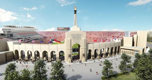 Estádio da NFL em Los Angeles