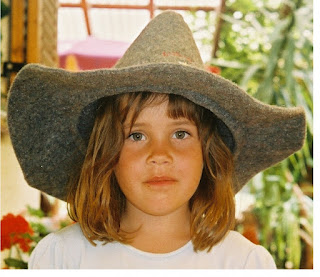 Image: A traditional Styrian felt hat, now specially produced for the tourist market. Photo by KF, August 2004