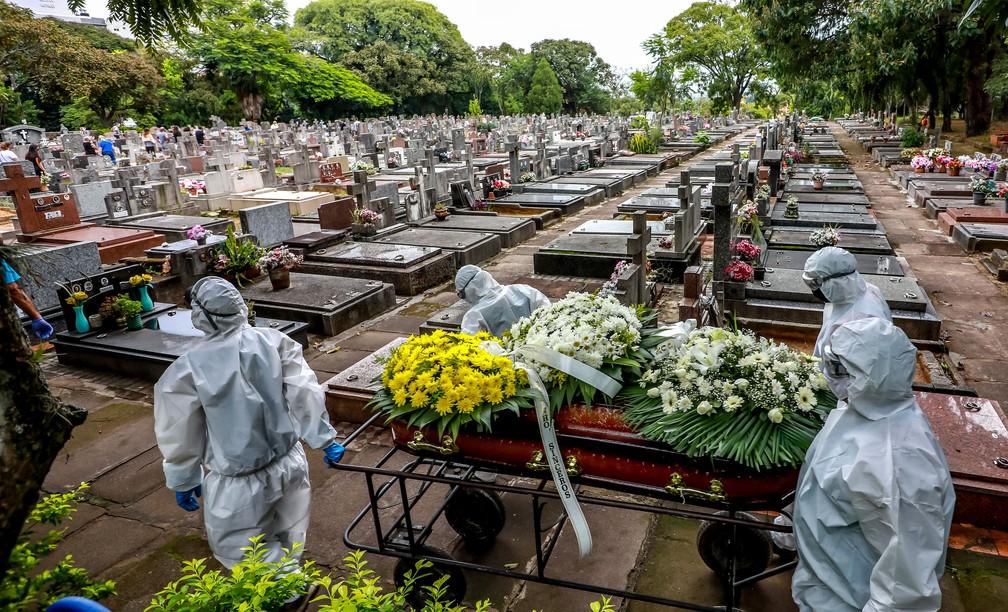 Brasil é o país das Américas com mais mortes por Covid em relação a população