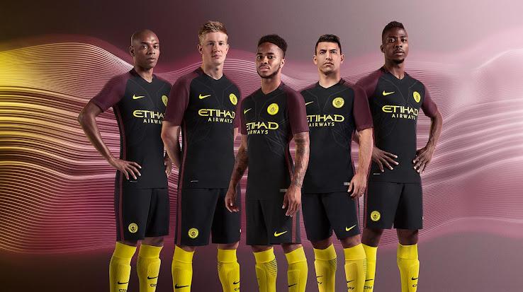 Manchester City 16 17 Auswärtstrikot Veröffentlicht Nur Fussball