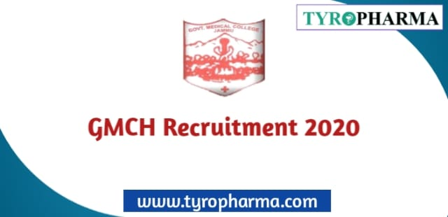 GMCH Recruitment 2020 for 60 Posts of Pharmacist, Occupational Therapist, Sr. Staff Nurse & more Posts