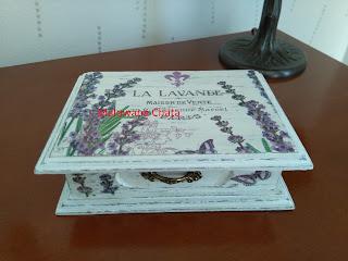 Szkatułka na biżuterię Lawenda nr 7