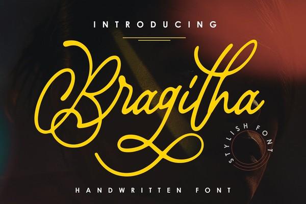Bragitha Stylish Font