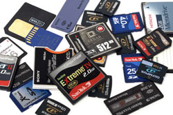 tarjetas de memoria