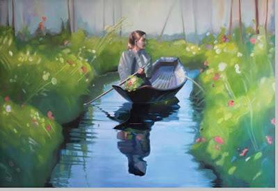 Lukisan Amelia Alcock – White - berbagaireviews.com
