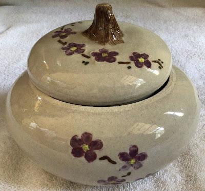 Lidded Pot; ceramics; arts & crafts