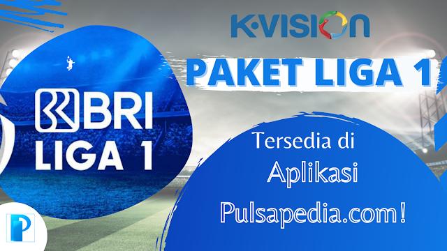 K-Vision: Paket BRI Liga 1 2021