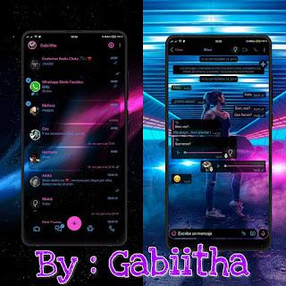 Girls & Car Theme For YOWhatsApp & Fouad WhatsApp By Gabiitha