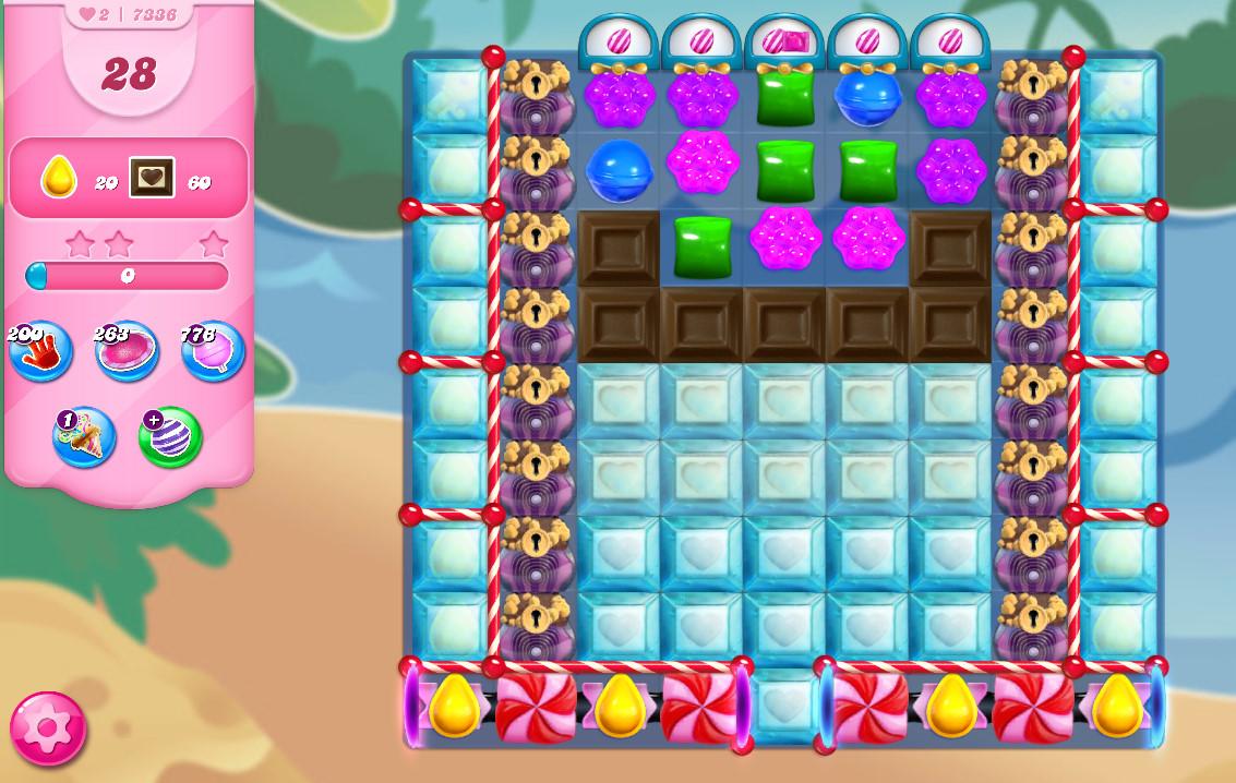Candy Crush Saga level 7336