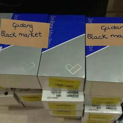 jual hp laptop asus rog black market