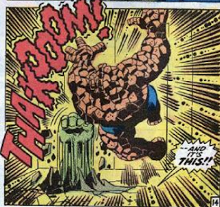 Trimpe Hulk 122 Fantastic Four