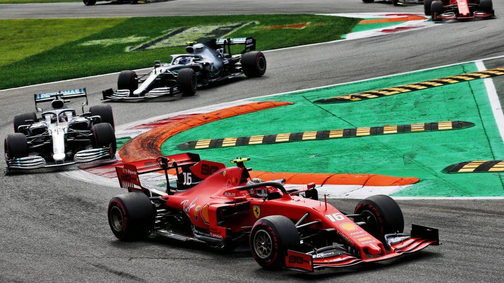 Leclerc afasta Mercedes e termina a seca da Ferrari em Monza
