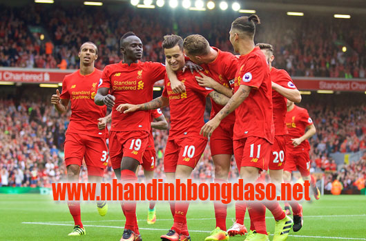 Liverpool vs Bournemouth www.nhandinhbongdaso.net