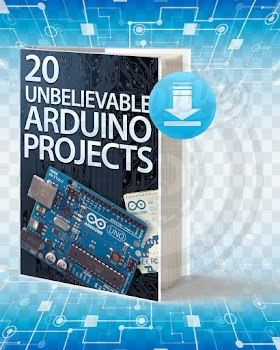 Download 20 Unbelievable Arduino Projects pdf.