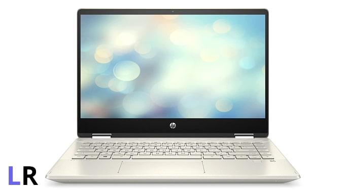 HP Pavilion x360 laptop.