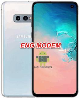 Samsung S10e SM-G970F Eng Modem File