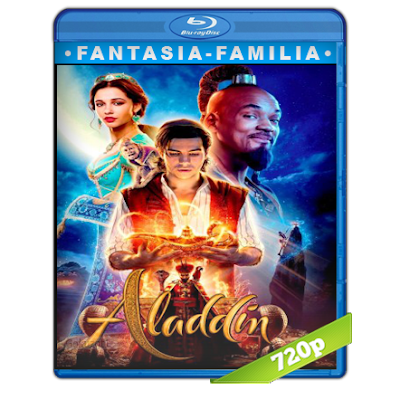 Aladdin (2019) BRRip 720p Audio Trial Latino-Castellano-Ingles 5.1