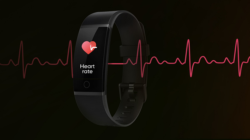 The Realme Band will come with real-time heart-rate monitoring, perfect for those with active lifestyles.