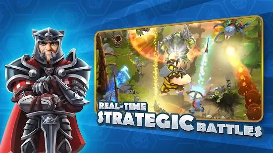 Darkfire Heroes اجمع وقاتل مع أكثر من 75 بطلًا من 6 فصائل فريدة في لعبة تقمص الأدوار الخيالية هذه.