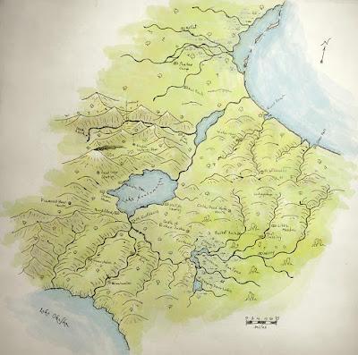 Random Map: terrain table