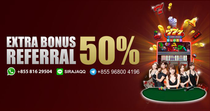 Extra Bonus Referral 50%