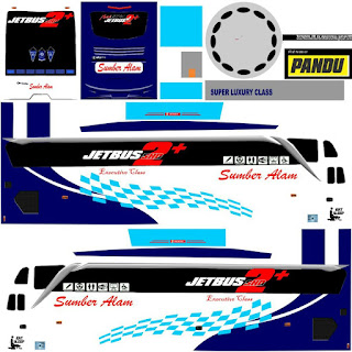 Download Livery Bus Sumber Alam