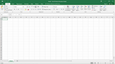Excel Workbook