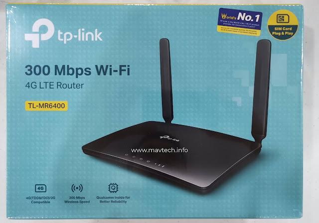 TP-Link TL MR6400 4G LTE Router
