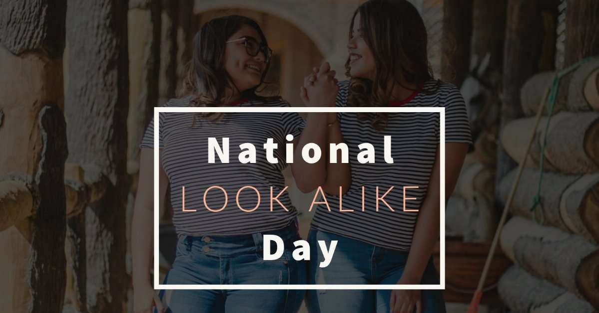 National Look-Alike Day Wishes for Instagram