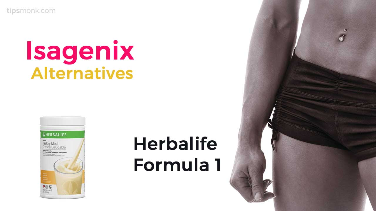 Top Isagenix Alternatives - Herbalife Formula 1
