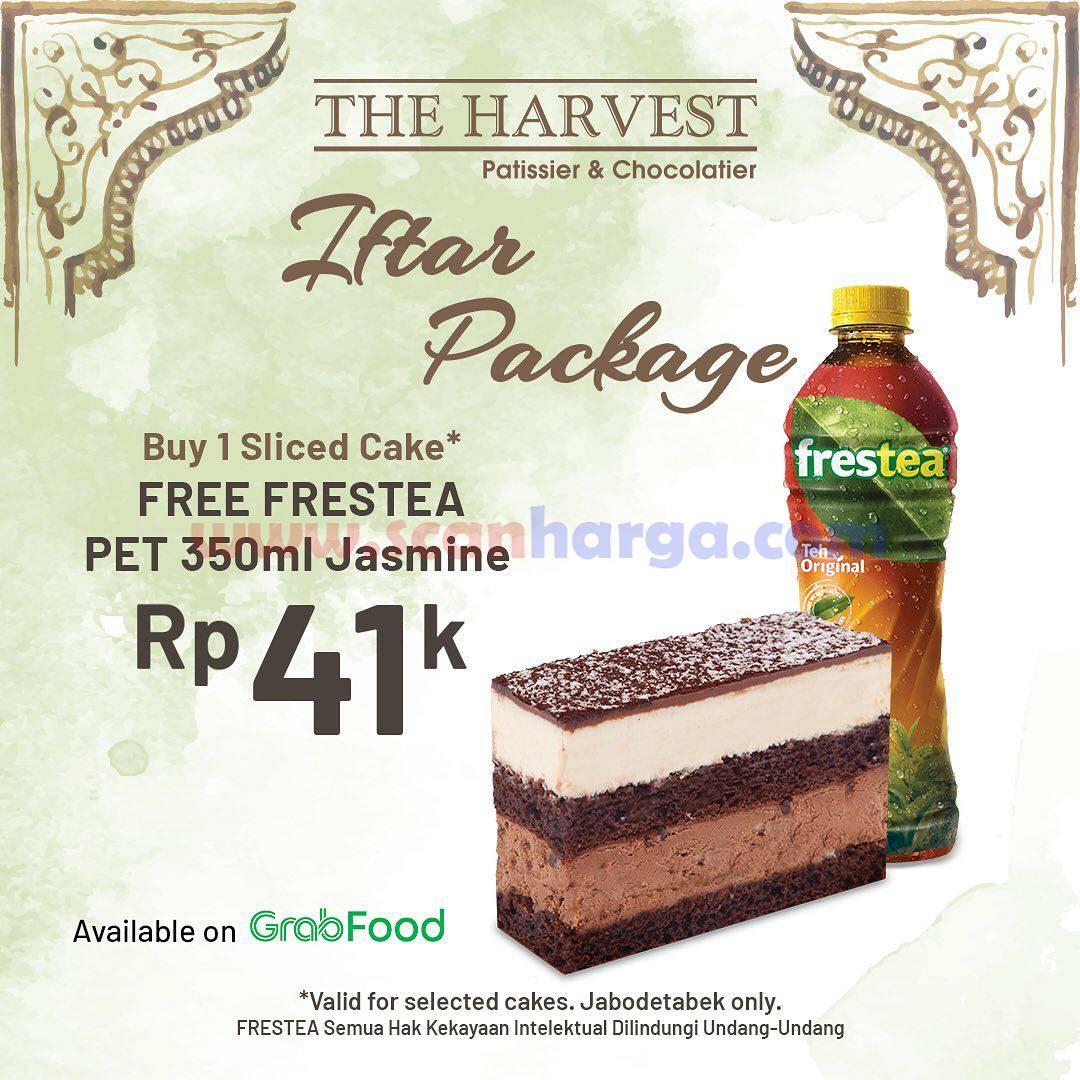THE HARVEST Promo Iftar Package GRATIS Frestea Pet 350ml