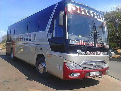 Dreamline Bus from Mombasa