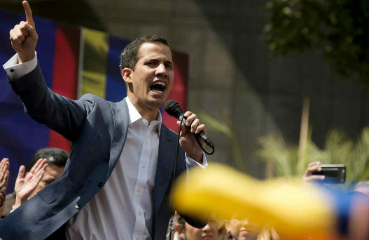 El presidente Trump reconoce a Juan Guaidó como presidente interino de Venezuela