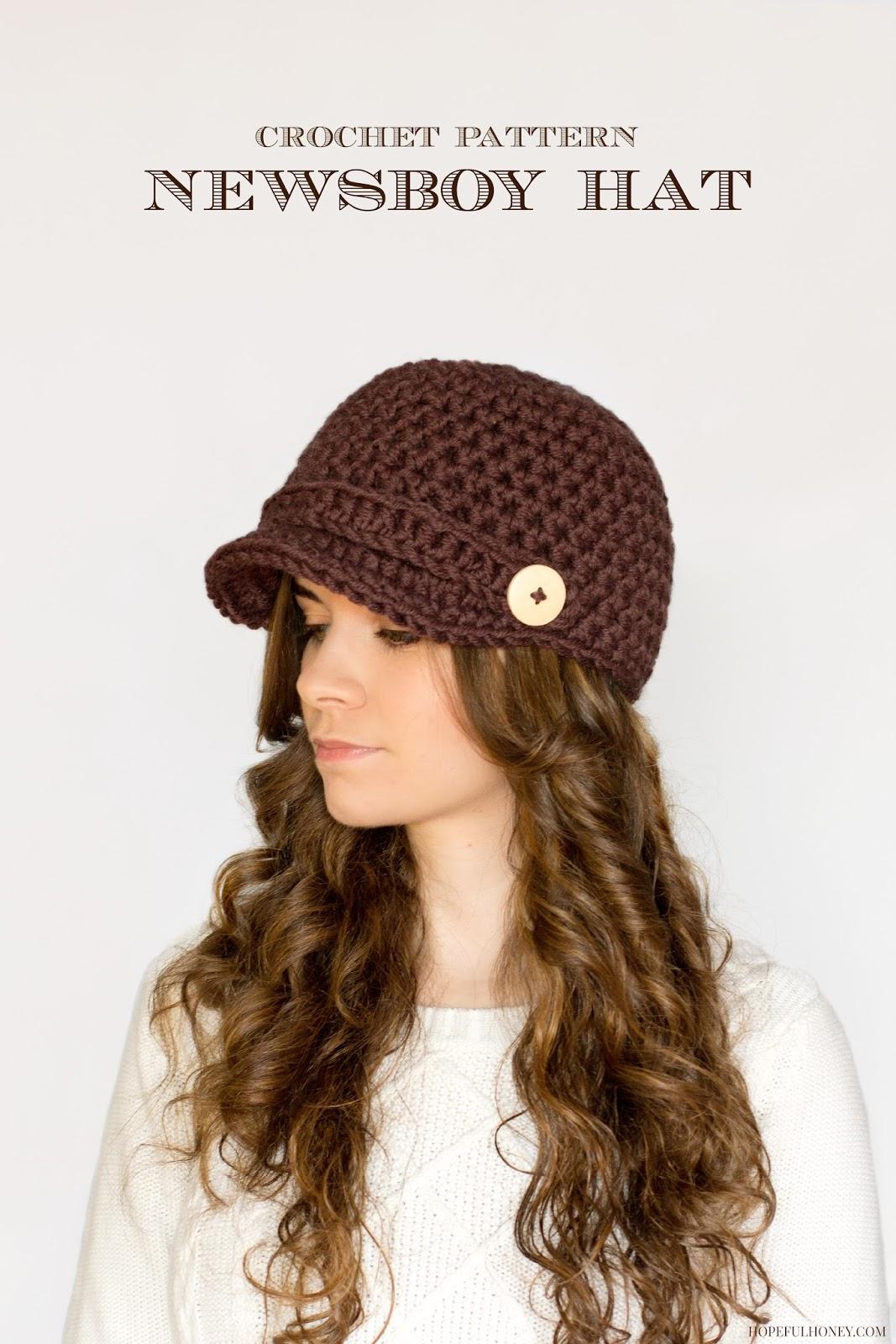 10f220d5 Crochet Brimmed Beanie