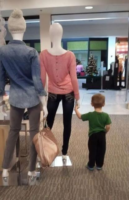 Ele pensou que era a sua mãe