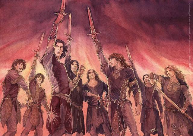 Los elfos de Tolkien para Dungeons & Dragons