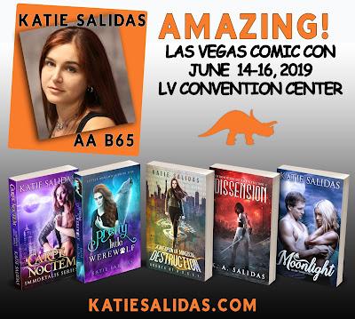 Katie Salidas, Author