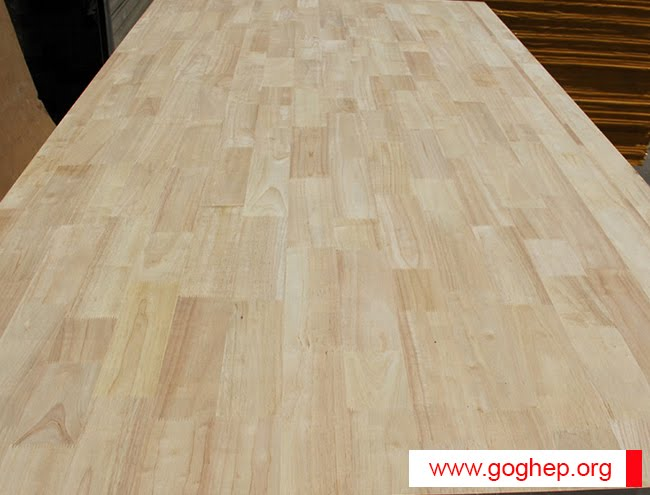 gỗ ghép cao su chuẩn AA
