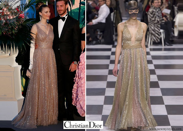 Beatrice Borromeo wore Christian Dior gown from Fall 2018 Paris Haute Couture