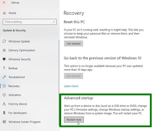 Cara Membuat System Image Backup pada Windows 10