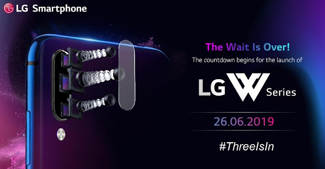 LG W-series smartphone launch 2019