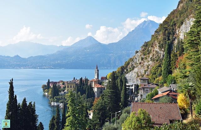 Lago di Como en Italia