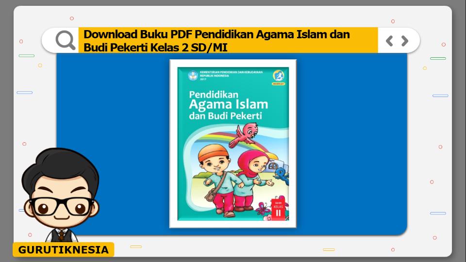 download buku pdf pendidikan agama islam dan budi pekerti kelas 2 sd/mi