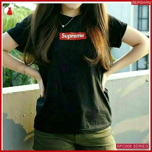 SCP006S43 Supreme Tee Shirt T Atasan Wanita | BMGShop