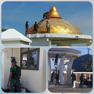 'Pangdam' Perbaikan Makam Sultan Hasanuddin Bentuk Penghormatan Dan Ruh Prajurit kodam